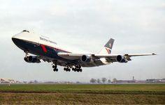 British Airways vintage Boeing 747-200 Landor livery. My favourite BA livery