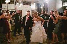 Sparkler reception exit. Diana + Jeremy - Jeremy Gilliam
