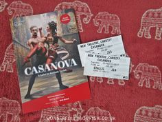 I won tickets to see Casanova in Cardiff, performed by Northern Ballet. Here's my review, and the trailer if you want to see it yourself.