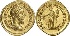 Imperial Rome AV Aureus ND struck 177/78AD Rome Mint 7.31g. Emperor Marcus Aurelius