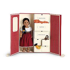 Attrayant American Girl® Dolls: Keepsake Box Doll Closet, Doll Wigs, American Girl  Storage