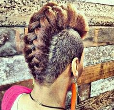 50 Mohawk Hairstyles for Black Women