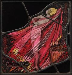 'Scandalous' Harry Clarke stained glass piece goes on show in Dublin