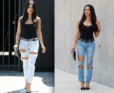Maytedoll: Celebrity Look For Less: Kourtney Kardashian stree...
