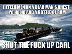 15 men on a dead mans chest