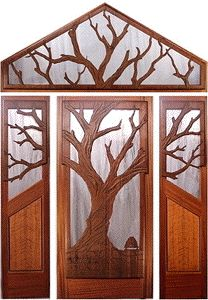 Fine Custom Wood Doors by Mendocino Custom Doors ~ Exterior and Interior ~ All Styles