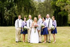 Photography: Calli B Photography - callibphotography.com.au Bridesmaids' Dresses: Review - www.review-australia.com Groomsmen Attire: RM Williams - www.rmwilliams.com.au   Read More on SMP: http://www.stylemepretty.com/australia-weddings/queensland-au/2013/12/10/toowoomba-diy-wedding/