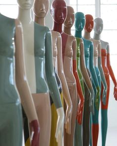 "ATREZZO MANNEQUINS, Barcelona, Spain, ""Fitting on the waist remodeling your hips"", pinned by Ton van der Veer"