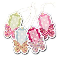 FREE printable butterfly tags