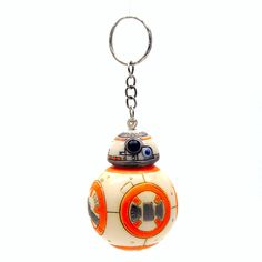 1PCS 2.2inch The Force Awakens BB8 BB-8 R2D2 Droid Robot Action Figure stormtrooper Clone Trooper Strap  toys