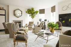 Pared-down interiors give a centuries-old space a fresh, airy feel.