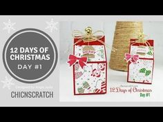 12 Days of Christmas 2017 Day 1 | Chic n Scratch