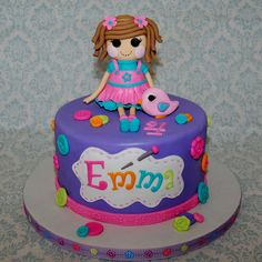 CakeFilley: Lalaloopsy Cake
