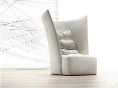 Armchair with headrest RED BARON Shabby Chic Collection by ERBA ITALIA | design Giorgio Soressi