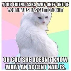 Nail polish quotes #nails #humor #quotea