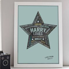 Personalised Loves Print – Little Pieces