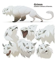 Grimm the chimera currently I've had to put the comic on hold not a lot of feedback...not a lot of support I will likely come back to it in the future, but I have bills to pay first&nbs...