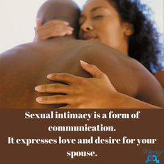 """You've heard the phrase """"actions speak louder than words""""... It is important that we are verbally expressing our love and desire for our spouses. It is equally important to 'act it out'. Connect sexually with your spouse - use this form of communication often! Actions Speak Louder Than Words, Forms Of Communication, Genesis 1, Love And Marriage, Equality, Knowing You, Acting, Connect, Quotes"""