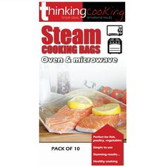 Steam Cooking Bags For The Oven Microwave From Thinking Www