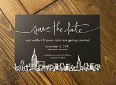 Party City Wedding Invitation Best Of Cari & Jason Wedding Alread Designs Save The Date Invitations, Save The Date Cards, Wedding Invitations, Business Invitation, New York Theme, New York Party, Wedding Paper, Wedding Card, New York Wedding