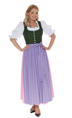 original and traditional, the Ausseer Dirndl. Every region and valley in Austria had a special type of dirndl.