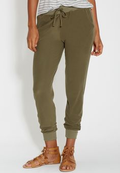 ultra soft jogger pants in forest fern (original price, $24.98) available at…
