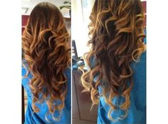 Spirals for Layered Hair