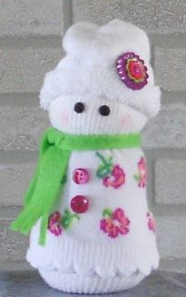 Sock Snowman by TherapyEtc on Etsy https://www.etsy.com/listing/206000339/sock-snowman