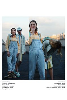 This is Welcome and Feldt have been featured in Hope Street Mag! The editorial 'Sisterhood' features Welcome's staple denim dungarees and Feldt's collared shirt. We love it when our brands are featured together! Styled by Gabrielle Stival and Shot by Elliot Kennedy. #boyfriend #clothes #brand #casual #clothes #cool #Denim #designer #fashion #editorial #Feldt #fresh #magazine #article #new #ontrend #thisiswelcome #trend #urban #clothing #womens #style #Womenswear