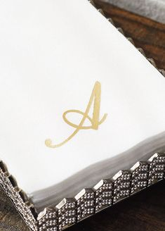 Our Monogrammed Gues