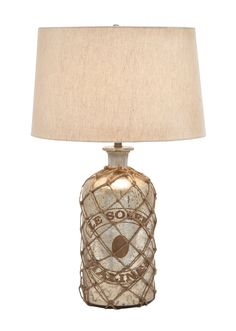 Net Jute Table Lamp