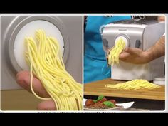 Making Pasta With the Philips Pasta Maker Noodle Maker, Pasta Maker, Spaghetti, Penne, Food Truck, Biscotti, Pasta Fillo, Salsa, Food And Drink