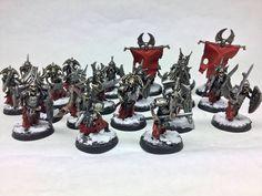 Warhammer Age of Sigmar | Death | Grave Guard unit #warhammer #ageofsigmar #aos #sigmar #wh #whfb #gw #gamesworkshop #wellofeternity #miniatures #wargaming #hobby #fantasy