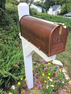 Mailbox Makeover #MailboxLandscape #MailboxLandscaping