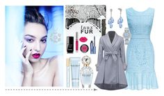 """""""Light Blue"""" by majalina123 ❤ liked on Polyvore featuring Marc Jacobs, OMEGA, Benefit, Chanel and MAKE UP FOR EVER"""