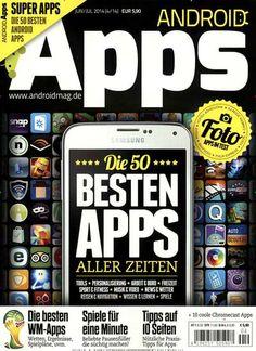 Die besten ANDROID Apps aller Zeiten. Gefunden in: ANDROID Apps Nr. 4/2014