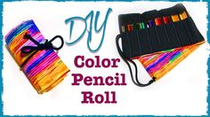 Color Pencil Roll | DIY | Diving Head First