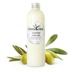 Olive Tree, Body Wash, Yogurt, Shampoo, Soap, Personal Care, Bottle, Self Care, Shower Gel
