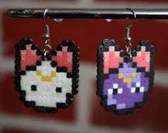 Resultado de imagen de sakura naruto perler beads