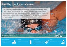 Swim your way to a healthy body. #healthyswimtips #swimming #swimelite