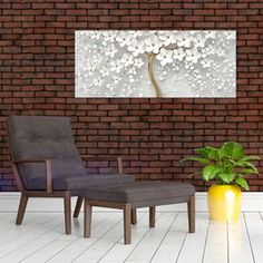 Obraz bieleho stromu s kvetinami (V020977V12050) | Mivali.sk Outdoor Furniture, Outdoor Decor, Home Decor, Garden Furniture Outlet, Homemade Home Decor, Decoration Home, Room Decor, Interior Design, Home Interiors