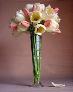 Tall Tulip Centerpiece