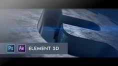 After Effects- 3D Twitter logo Element 3D Tutorial
