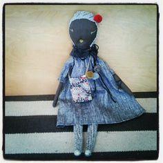 Petit Bebe jess brown rag doll 6