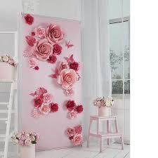 Resultado de imagem para painel floral para mesa de casamento Decoração  Flores De Papel bbdef7e0afe