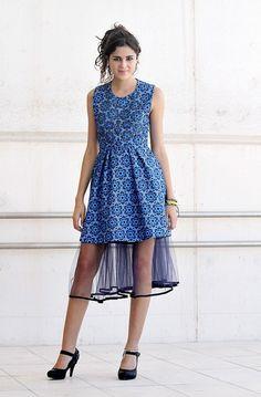 Sandra Martín POL Sandro, Elle Blogs, Detail, Celebrities, Dresses, Style, Fashion, Vestidos, Swag