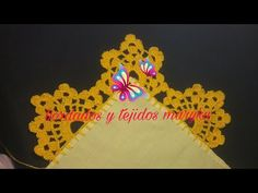 Embellishments, Make It Yourself, Youtube, Crochet Elephant, Crochet Fruit, Crochet Mandala, Crochet Hats, How To Knit, Trays