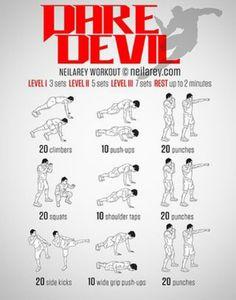 DAREBEE - Dare Devil workout