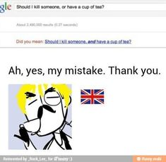 Who let moriarty back on the Internet?!? I love how the little brittish guy has iggy eyebrows XD