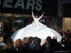 Ice Queen: Glacial Retreat Dress Tent by Cara Spooner